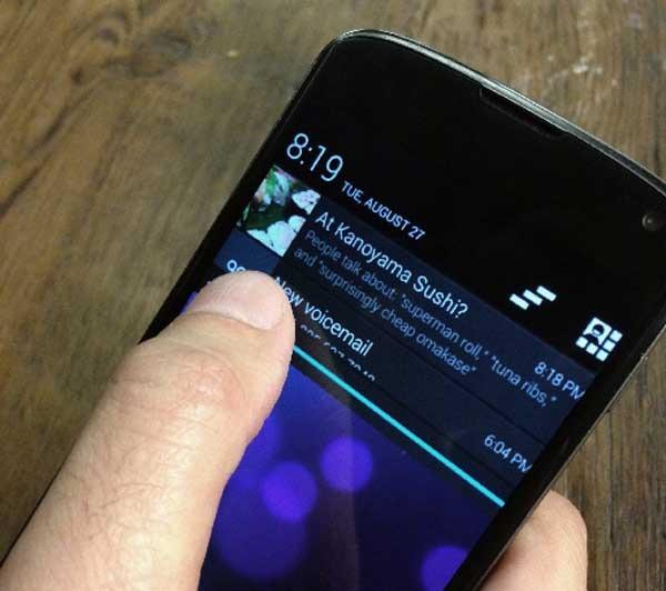 Foursquare introduce notificaciones con consejos y ofertas