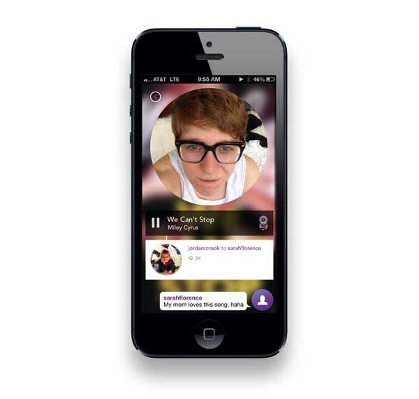 Rithm, una aplicación de mensajería musical