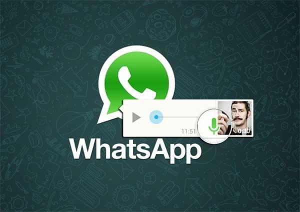 WhatsApp introduce los mensajes de audio Pulsar para Hablar