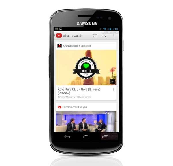 YouTube, ahora con aspecto de tarjetas, multitarea de vídeos y más