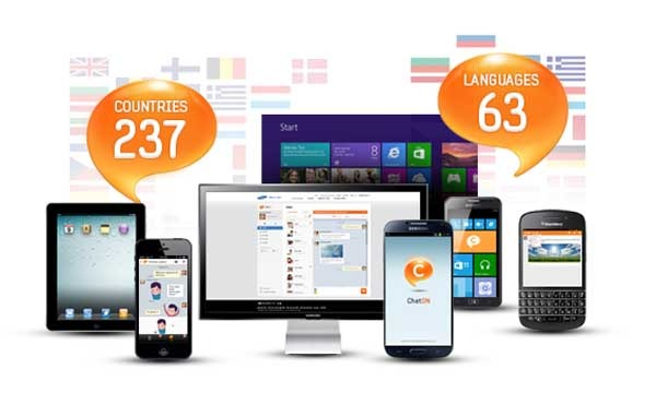ChatOn, la app de mensajes de Samsung alcanza los 100 millones de usuarios