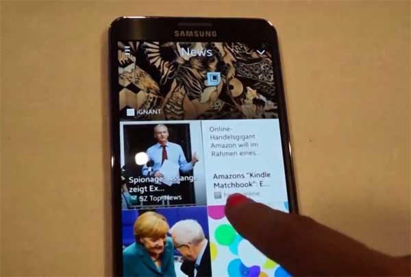 My Magazine, sigue tus noticias y contenidos desde el Samsung Galaxy Note 3
