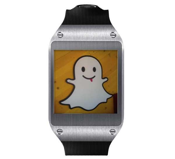 Snapchat, la app de fotos con caducidad llega al reloj