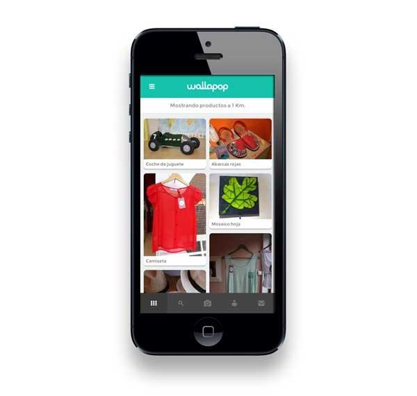 Wallapop, un mercadillo virtual para iPhone