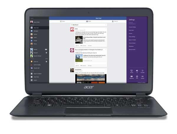 Facebook ya cuenta con aplicación propia en Windows 8.1
