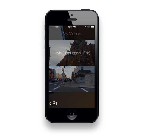 JamCam, graba vídeos con la música que vas escuchando en iPhone