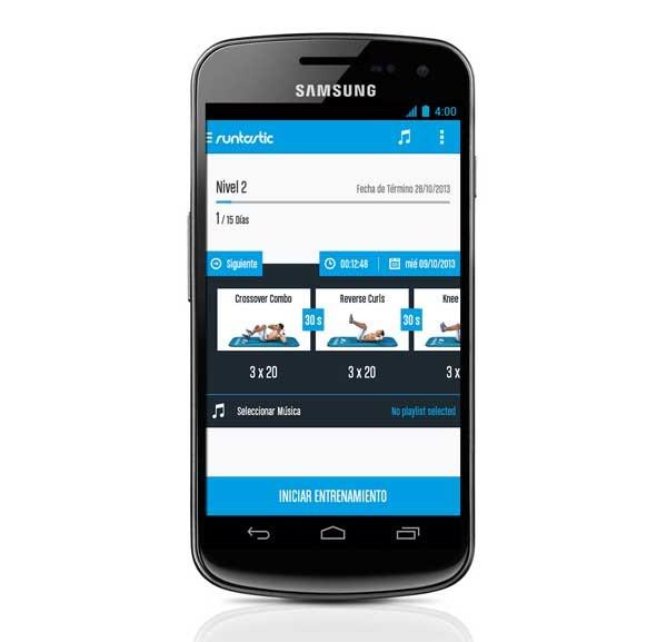 Runtastic Six Pack Abs Workout, marca tus abdominales con esta app