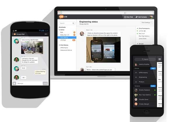 Talk.co, una app como WhatsApp para entornos profesionales