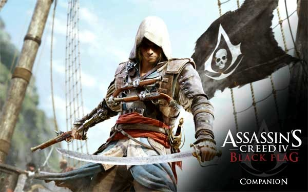 Assassin's Creed 4 Black Flag también tiene su propia app
