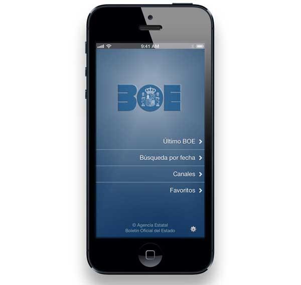 BOE, accede al Boletín Oficial del Estado desde tu móvil