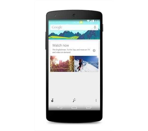 Google Now ahora incorpora algunas de las mejoras vistas en Android KitKat