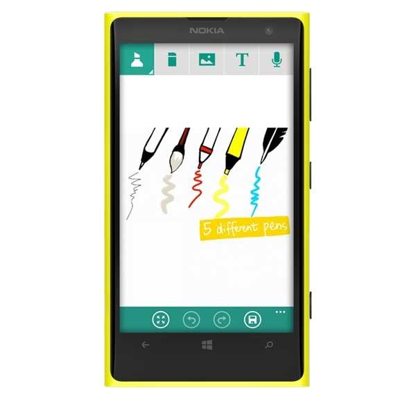 InNote, una herramienta para tomar notas en Windows Phone