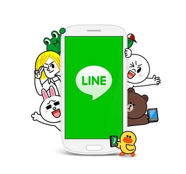 LINE, cada vez más cerca de WhatsApp