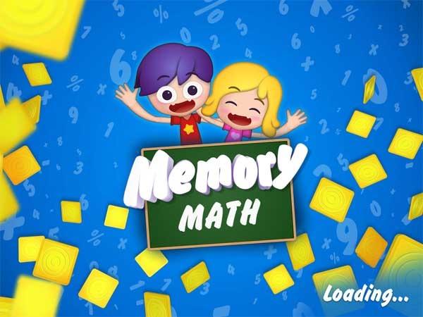 Memory Math, un juego de matemáticas y memoria para niños