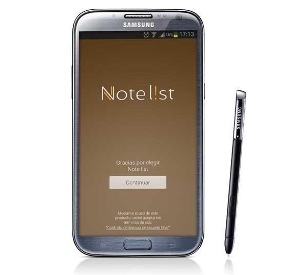 Note list, una aplicación de notas sencilla y práctica para Android