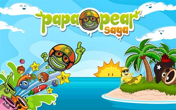 Papa Pear Saga, un nuevo juego de los creadores de Candy Crush Saga