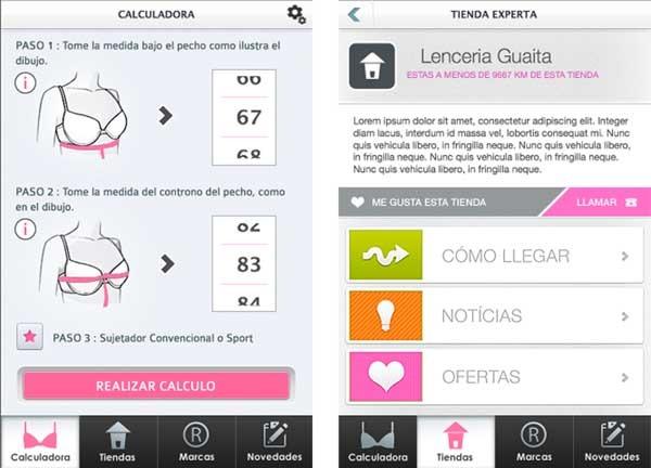 hacer un pedido especial para zapato bien fuera x Sayfit, calcula cuál es tu talla de sujetador ideal con esta app