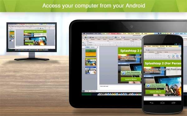 Splashtop 2, controla tu ordenador desde el móvil o la tableta