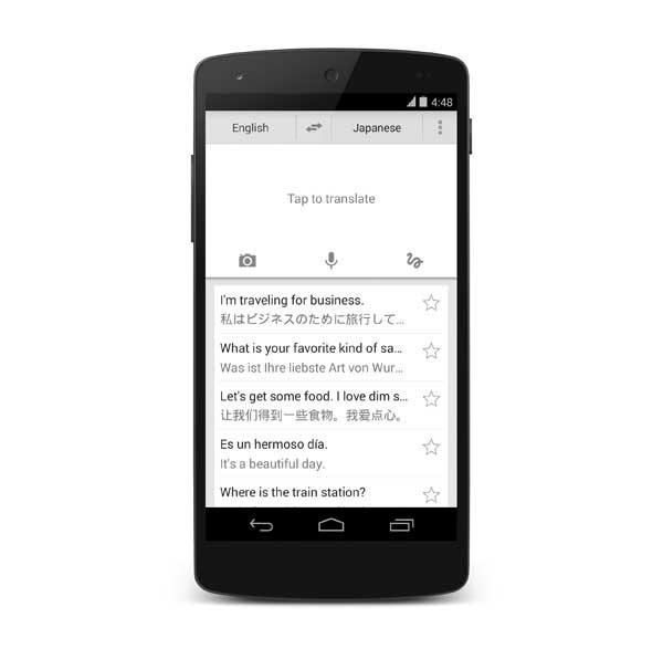 Traductor de Google se actualiza en Android con nuevo diseño y mejoras