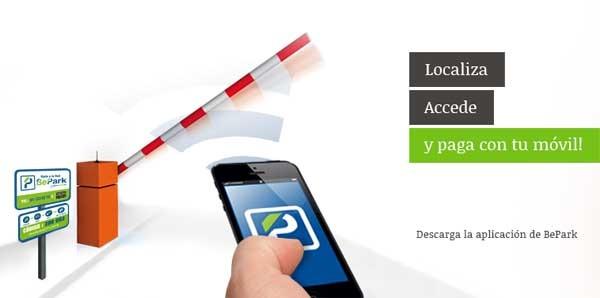 BePark, encuentra parking y paga desde el móvil