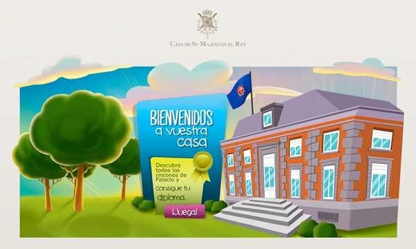 Descubre la casa del Rey, la app de la Familia Real Española