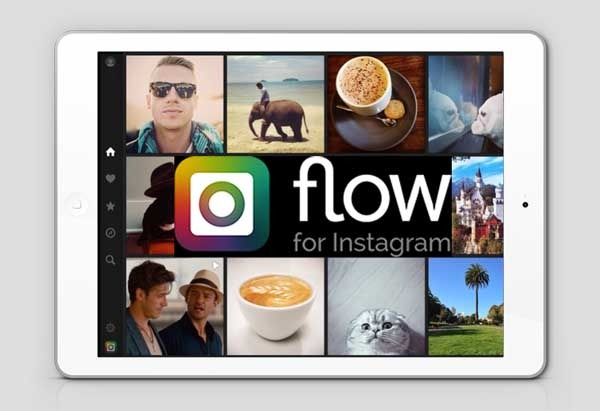 Flow, consulta la red social Instagram desde el iPad