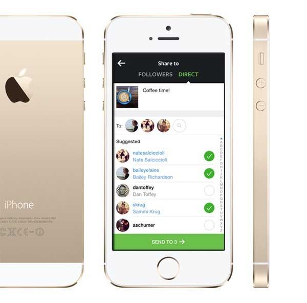 Instagram Direct, la nueva función de Instagram para compartir en privado