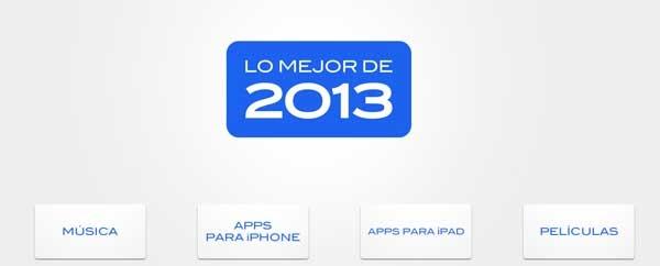 Las mejores aplicaciones de App Store en 2013