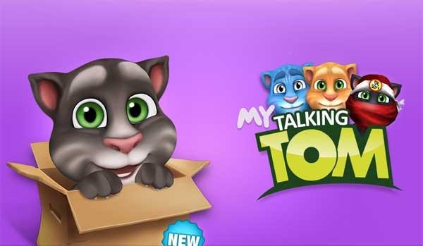 Mi Talking Tom adopta y cuida de este gato contestn