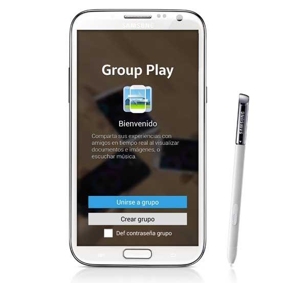 Así funciona Samsung Group Play