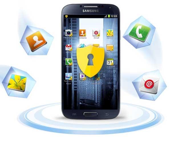 Así funciona la aplicación Knox de Samsung