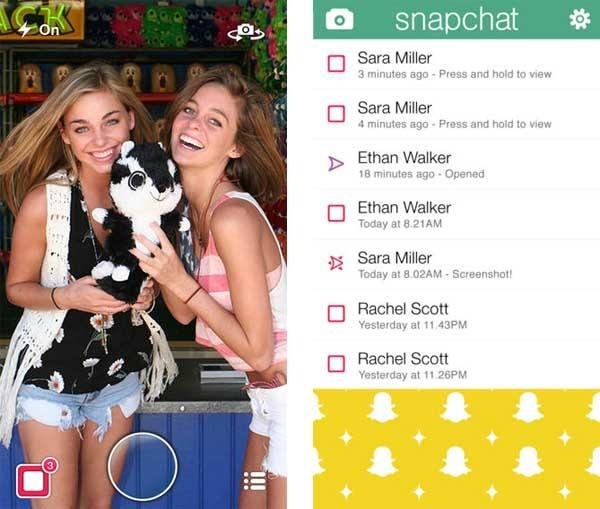 Aplicaciones para Snapchat