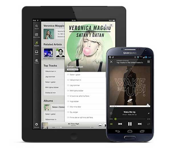 Spotify se vuelve gratuito también para smartphones y tabletas