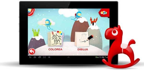 Vodafone Kids, un centro de juegos y cuentos para Android
