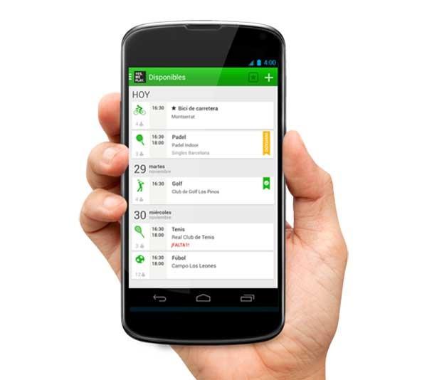Yesweplay, encuentra gente para practicar deporte con esta app