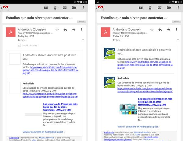 Cómo tener ya la última versión de Gmail