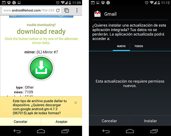 Gmail Android 472