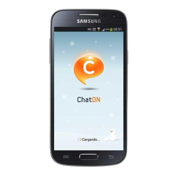 ChatON, la app de mensajes de Samsung abre su tienda de contenidos