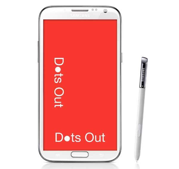 Dots Out, un adictivo juego multijugador para terminales Samsung