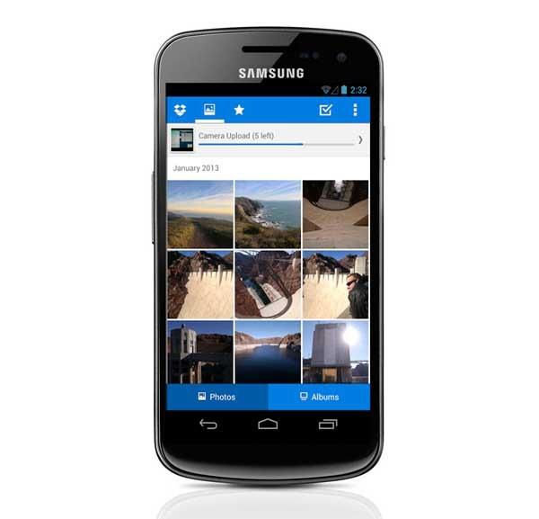 Dropbox ahora permite almacenar solo fotos automáticamente
