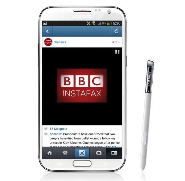 La cadena de noticias BBC lanza un canal de información en Instagram