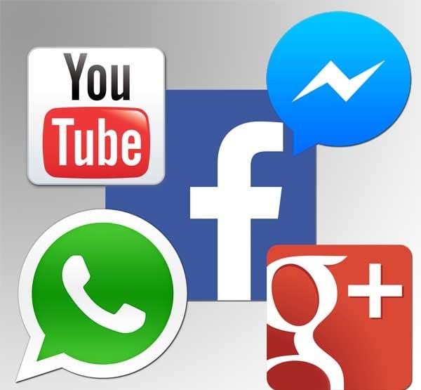 Las cinco redes sociales más utilizadas desde el móvil