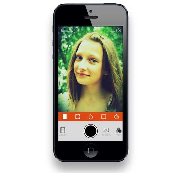 Retrica, una app al estilo Instagram para las autofotos