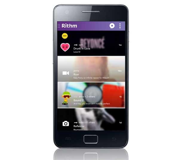 La app de mensajería musical Rithm llega a Android