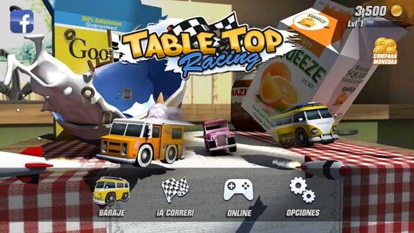 Table Top Racing, un juego de conducción al estilo Micro Machines