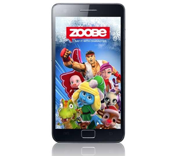 Zoobe, graba mensajes con personajes famosos para enviar