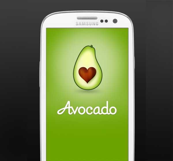 Avocado, una app privada para parejas