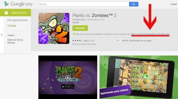 google play compras app
