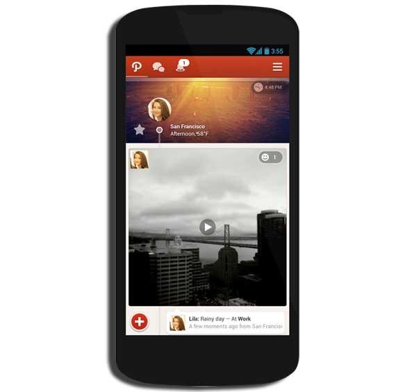 Path, ahora con vídeos cortos al estilo Instagram en Android