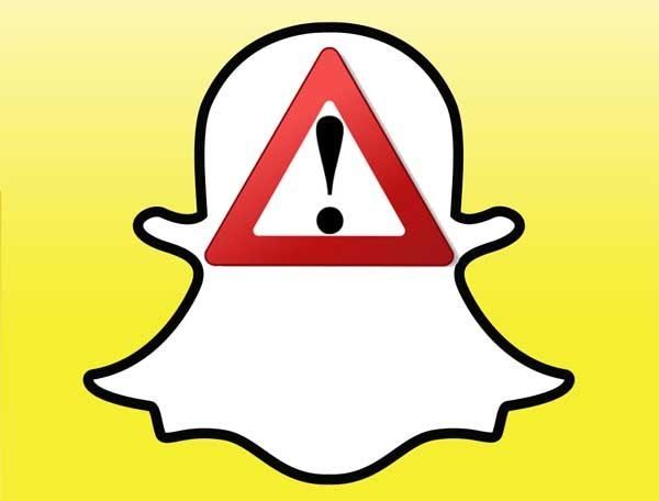 Snapchat sufre un frutal ataque de spam